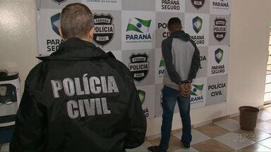 Polícia prende assaltantes que roubaram um mercado em Paranavaí no início desse mês - O caso chamou a atenção porque um menino de seis anos tentou chutar os assaltantes para proteger o pai.