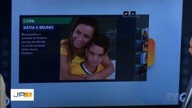 Telespectadores enviam fotos dos preparativos para a Copa do Mundo - Imagens podem ser enviadas por email, QVT e Whatsapp.