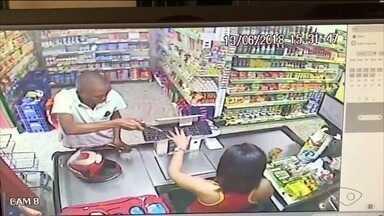 Criminoso assalta supermercado em Cachoeiro, ES - Supermercado preferiu não se manifestar sobre o caso.