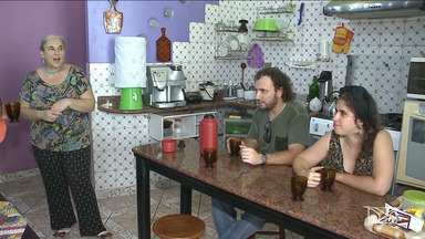 Russos acompanham em São Luís a estreia do país na Copa do Mundo - Eles moram em São Luís há 11 anos e mostram que o país gelado tem um pedacinho de verde e amarelo.