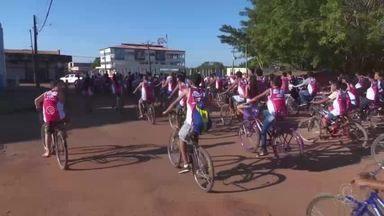 Em Guajará-Mirim, é lançada a décima sexta edição do bike trilha - Leile Ribeiro