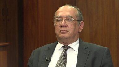 Gilmar Mendes diz que o Judiciário está sobrecarregado