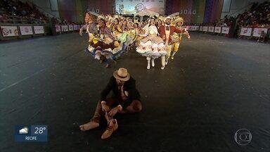 Festival de Quadrilhas da Globo chega ao quinto dia com show de cores e alegria - Grupos apresentaram temas variados