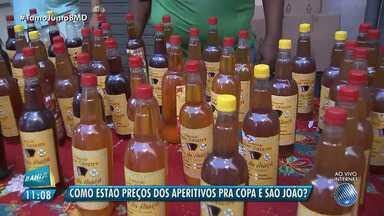 São João: reportagem vai à feira conferir os produtos para o forró e a Copa do Mundo - Confira os preços dos itens na Feira de São Joaquim.