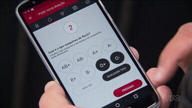 Aplicativo de celular ajuda a encontrar doadores e receptores de sangue - 27 bancos de sangue do Paraná estão cadastrados no aplicativo Hemogram, que pode ser baixado gratuitamente no sistema Android.