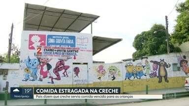 Pais dizem que crianças estavam comendo merenda estragada na creche - Prefeitura de São Gonçalo vai investigar o Instituto que atendia 65 crianças do município