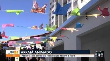 Centro de Reabilitação São Paulo Apóstolo prepara festa junina em Goiânia - Evento também conta com mostra cultural feita pelos próprios alunos.