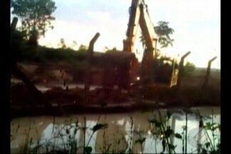 Órgãos de defesa do meio ambiente investigam suposto novo vazamento na Hydro, em Barcarena - Moradores da comunidade Murucupi denunciaram que durante a construção de um canal de escoamento de água da Hydro teria ocorrido vazamento de rejeitos da empresa