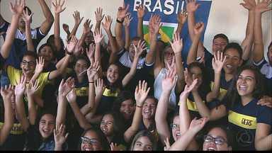 Estudantes de João Pessoa aprendem sobre países da Copa - Professores ensinam geografia e história.