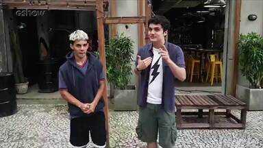 Gabriel Contente dá dicas de dança para Dhonata Augusto - Gabriel Contente fala da nova fase de Kavaco e dá dicas de dança para Dhonata Augusto