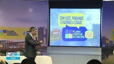 Moradores do Recife são convocados para construção de Plano Diretor da cidade - Documento é um conjunto de normas que definem o futuro da cidade.