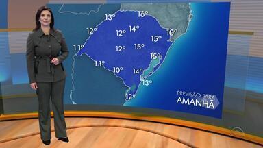 Tempo: mesmo com sol em todo RS, sábado (16) deve ser com frio no estado - Assista ao vídeo.