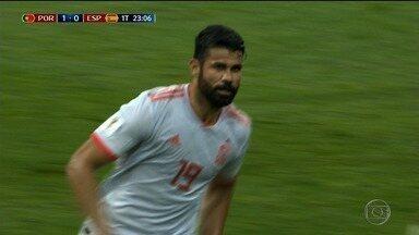 Sergipano Diego Costa brilha na Copa da Rússia - Jogador é atleta da Seleção da Espanha.
