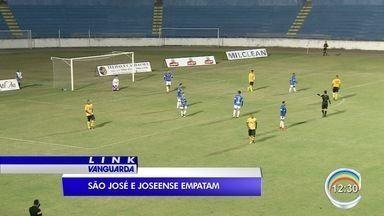 São José e Joseense se enfrentam no Martins Pereira - Jogo terminou empatado.