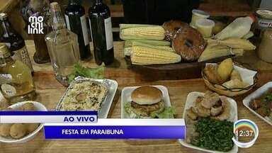 Paraibuna tem festa neste fim de semana - Comemoração terá comida e música.