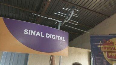 Famílias recebem kit digital em Boa Vista - Mudança do sinal analógico para o digital ocorre dia 14 de agosto nas cidades de Boa Vista e Cantá.