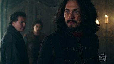 Afonso tem acesso de raiva por recusa de empréstimo - O monarca não se conforma com a negativa do Conselho da Cália de ajudar Montemor