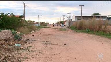 Moradores do Angelim reclamam das condições da pavimentação de avenida - Moradores do Angelim reclamam de pavimentação de avenida