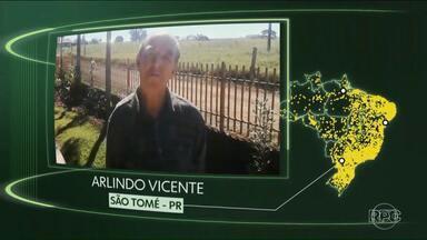 Moradores do Noroeste dão recado ao país na campanha 'Brasil que eu quero' - Moradores de São Manoel do Paraná, Japurá e Rondon também podem participar.