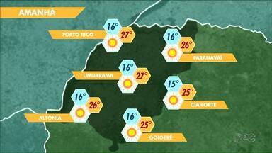 Último dia do outono será característico da estação no Noroeste - A quarta-feira, 20, terá frio de manhã e calor à tarde.