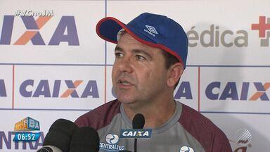 Enderson Moreira já comanda os treinos no Bahia - Confira as notícias do tricolor baiano.