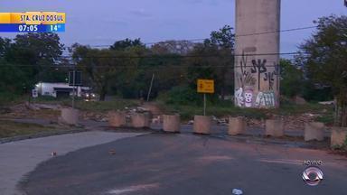 Obras na Avenida Tronco, em Porto Alegre, são retomadas nesta quinta-feira (21) - Assista ao vídeo.
