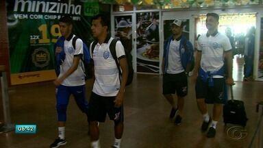 Jogadores do CSA chegam a Maceió - Eles jogaram duas vezes fora de casa.