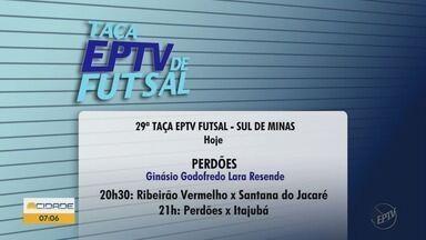 Taça EPTV de Futsal: veja jogos da segunda rodada - Taça EPTV de Futsal: veja jogos da segunda rodada