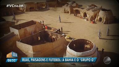 A Bahia na Copa: veja as semelhanças do estado com o grupo G do mundial - Confira na série especial do esporte no JM.