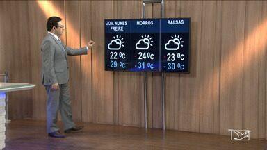 Veja as variações das temperaturas no Maranhão - Confira como deve ficar o tempo e a temperatura em São Luís e no Maranhão.