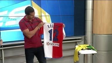 No Norte do ES, zagueiro Fabiano Eller dá palpites para jogo do Brasil - Jogador falou sobre a sensação de vestir a camisa da seleção.