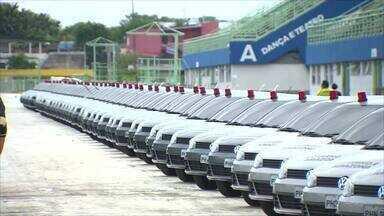 Governo do AM entrega 140 viaturas para reforçar segurança em bairros de Manaus - Viaturas vão ser usadas pelas polícias civil e militar.