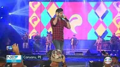 São João de Caruaru tem programação diversificada para animar o público - Valdir Santos e Pedrinho Pegação são algumas das atrações da festa no Agreste pernambucano.