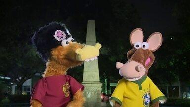 Cavalinhos da Copa vão parar na Praça Vermelha... Mas em Natal (RN)! - Cavalinhos seguem tentando chegar à Rússia para encontrar Tadeu Schmidt na Copa do Mundo, mas sem sucesso.