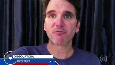Advogado fala pela primeira vez sobre vídeo em que desrespeita mulher na Copa da Rússia - Diego Jatobá deu entrevista ao Fantástico