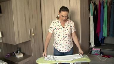 A Dica é: Lucy ensina jeito simples e prático para guardar roupas de ginástica - Lucy é consultora doméstica e está sempre dando alguma dica útil para a arrumação e limpeza da casa.