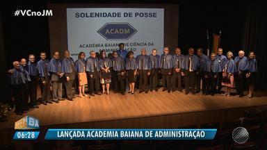 Academia Baiana de Ciências da Administração é lançada em Salvador - Veja como foi a cerimônia.