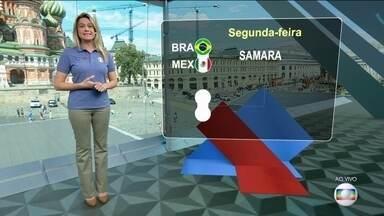 Seis dos confrontos das oitavas da Copa já estão definidos - O Brasil enfrenta o México, em Samara, na próxima segunda-feira (2).