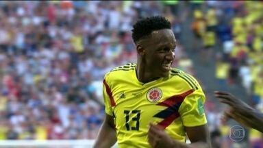 Número de cartões se torna critério de desempate e beneficia Japão - Cartões são usados pela primeira vez para decidir a classificação para as oitavas de final. No campo, Colômbia vence o Senegal.