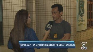 Polícia Civil prende terceiro suspeito do latrocínio do empresário Rafael Mineiro - Homem se entregou e confessou crime contra o empresário, que foi morto a facadas em Macapá.