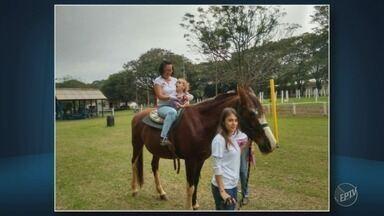 Serviço gratuito de equoterapia é suspenso em Piracicaba - Método terapêutico usa cavalos para tratar pessoas com deficiência.