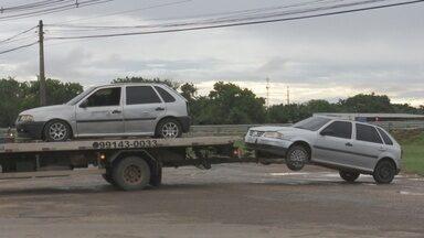 Polícia Militar prende jovem por receptação de veículo roubado em Boa Vista - Na casa do suspeito a polícia descobriu um desmanche de veículos.