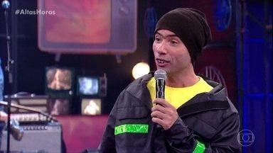 Jackson Faive canta rap em homenagem a Serginho - Motoboy faz seus comentários sobre a Copa