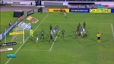 Em casa, CSA empata com o Coritiba e garante vaga no G4 da Série B do Brasileiro - Partida terminou 2 a 2.