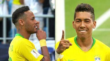 Brasil 2 x 0 México – Oitavas de final - Brasil enfrenta o México pelas oitavas de final, em Samara.