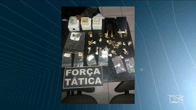Homem suspeito de assaltar joalheria é preso em Balsas - Crime foi cometido horas após ele ter saído da cadeia.