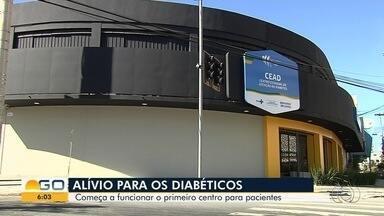 Primeiro do Brasil, Centro de Atendimento Exclusivo para Diabetes é inaugurado em Goiânia - Previsão é que 2 mil pessoas sejam atendidas de graça.
