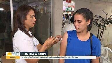 Campanha de vacinação contra gripe termina, e cidades da Grande BH não alcançam meta - Vírus podem até matar e se manifestam principalmente no inverno.