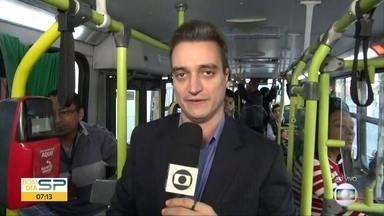 Ônibus ao vivo - Nossos repórteres embarcam na linha 502J-10 que sai de Interlagos e vai até a Vila Mariana.