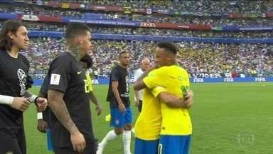 Brasil despacha México e vai enfrentar a Bélgica nas quartas de final da Copa - Só faltam três jogos para o hexa. Mas não vai ser fácil. Na sexta-feira (6), a seleção brasileira encara o melhor ataque da Copa. A Bélgica tem 12 gols em quatro partidas.